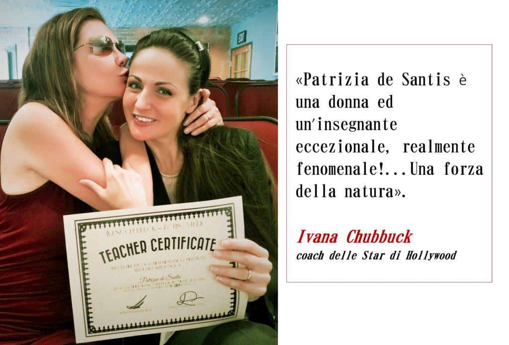 1.Ivana Chubbuck cita Patrizia de Santis